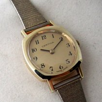 Certina 14ct rare vintage golden model, serviced