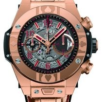 Hublot [NEW] Big Bang Unico King Gold World Poker Tour Automatic