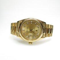 Rolex Day Date ref.18038 750/-er Gold mit Diamant