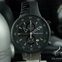 Momo Design Jet Black, Chronograph, 43MM