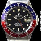 Rolex 16750 Gmt Master Pepsi Stainless Automatic