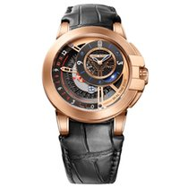 Harry Winston [NEW] Ocean Dual Time 44mm automatic 18K rose...