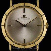 Jaeger-LeCoultre 18k Yellow Gold Silver Baton Dial Vintage...