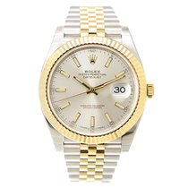 Rolex Datejust Gold And Steel Silver Automatic 126333SV_J