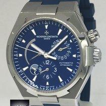 Vacheron Constantin Overseas Dual Time Steel Blue Mens Watch...