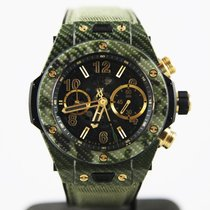 Hublot Big Bang 45mm Unico · Italia Independent Green Camo