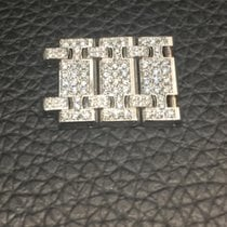 Audemars Piguet 3 links 18k white gold and diamonds for Royal...