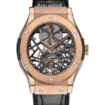 Hublot 505.OX.0180.LR Classic Fusion 45mm - Red Gold Skeleton...