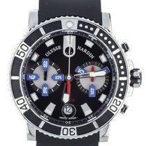 Ulysse Nardin Maxi Marine Diver Chronograph On Rubber Strap...