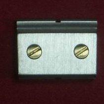 Cartier Santos Glied Link Ersatzglied 14,15mm Stahl mit 2...