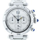 Cartier 2113 Pasha Chronograph Stainless Steel Watch