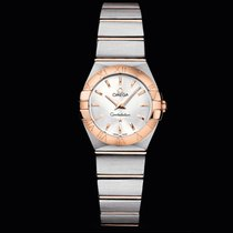 Omega Constellation Quartz 24 MM steel-red gold T