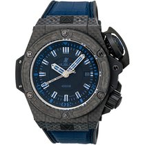 Hublot KING POWER OCEANOGRAPHIC 4000 DIVER MUSEE LE BLACK/BlUE...