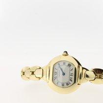 Cartier Paris 18K Yellow Gold quartz  26mm (BOX2001)White...
