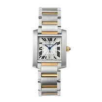 Cartier Tank Francaise Automatic Ladies Watch Ref W51005Q4