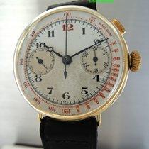 "Monopusher Chronograph Vintage  ""Fiat"" 18k Gold"