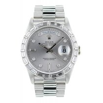 Rolex Day-Date Diamants - Ref 18366