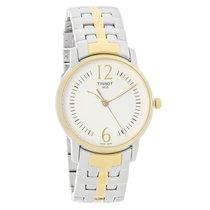 Tissot Lady Round Ladies Two Tone Swiss Quartz Watch T052.210....