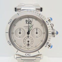 Cartier Pasha Chronograph Open Back Ref 2113  (With Box &...