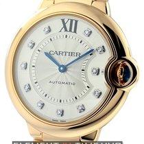 Cartier Ballon Bleu Collection 18k RG Diamond Dial 36mm Ref....