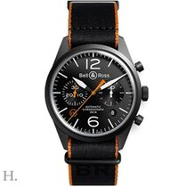 Bell & Ross BR 126 Carbon Orange