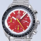 Omega Speedmaster Racing Schumacher Red Dial 3510.61 Box Papers