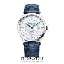 Baume & Mercier Classima Steel/Leather Silver Dial 40mm M