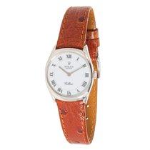 Rolex 1990s Cellini 18K White Gold Manual Wind Watch 4129