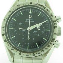 Omega Speedmaster Broad Arrow Mens Manual Winding Steel Watch...