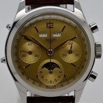 TAG Heuer HEUER Mondphase Chronograph, Jean-Claude Killy screw...