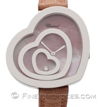 Chopard Damenuhr Happy Spirit Weißgold 209056-1001
