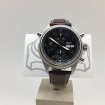 IWC Pilot Spitfire Doppelchronograph Rattrapante Ref IW3713