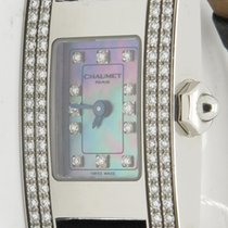 Chaumet Paris Classic Lady's Diamond Set Bezel Mop Dial Watch