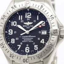 Breitling Polished Breitling Superosean Steel Automatic Mens...