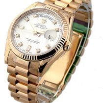 Rolex Unworn 118235 Rose Gold Mens President Day - Date -...