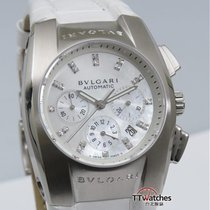 Bulgari Ergon Ladies Chronograph Mop Diamond Dial