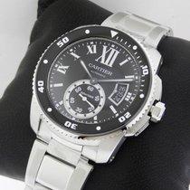 Cartier Calibre de Cartier Diver w7100057 Stainless Steel NEW