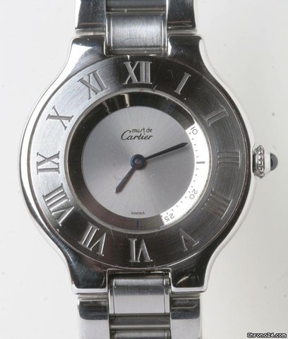 Cartier Must de Cartier 21 mid size