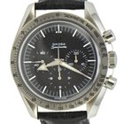 Omega Speedmaster Broad Arrow Mens on Leather Strap