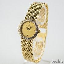 Baume & Mercier Lady Riviera 18k Gelbgold mit 28 Diamanten