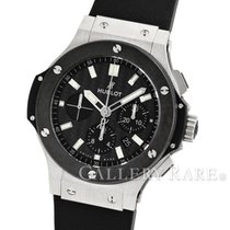 Hublot Big Bang Evolution Ceramic Bezel Stainless Steel 44MM