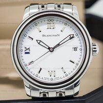 Blancpain 2100-1127-11 Leman 2100 White Dial SS 38MM (24713)