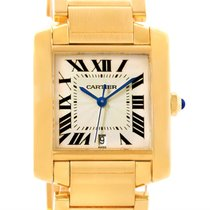 Cartier Tank Francaise Large 18k Yellow Gold Unisex Watch...
