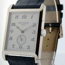 Patek Philippe Gondolo 5109 18K White Gold Mens Watch 5109G