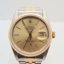 Rolex Datejust 18k Gold Steel 36mm Ref. 16233