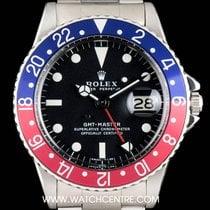 Rolex S/S Matte Dial Pepsi Bezel GMT-Master Vintage B&P 1675