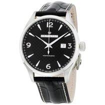 Hamilton Jazzmaster Black Dial Leather Strap Men's Watch...
