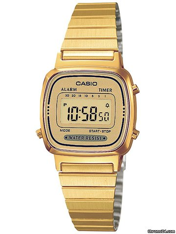 Casio LA670WEGA-9EF Collection Damenuhr