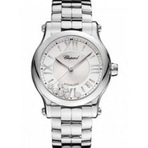 Chopard Happy Sport Medium Ladies Automatic in Steel