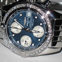 Breitling Chrono Cockpit Chronograph Diamonds